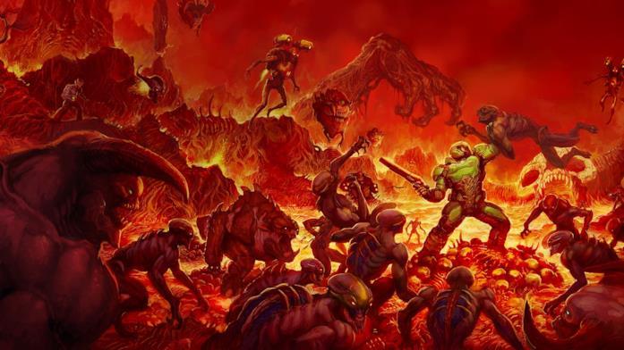 La saga di DOOM è stata creata da John Romero