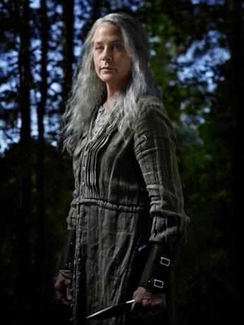 Carol nel character poster della stagione 9 di The Walking Dead