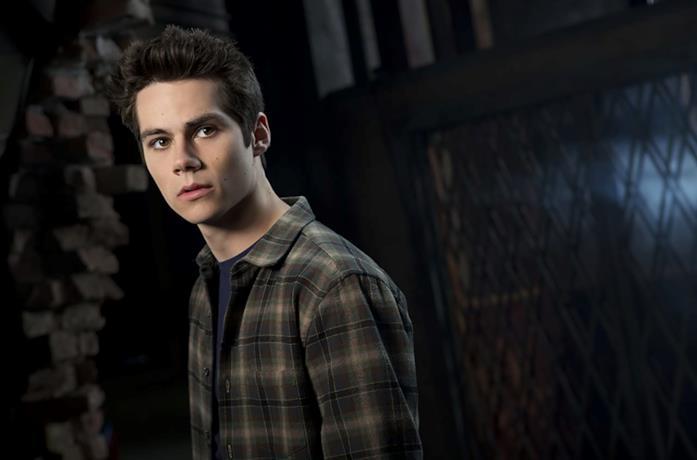 Dylan O'Brien in una foto promozionale per Teen Wolf