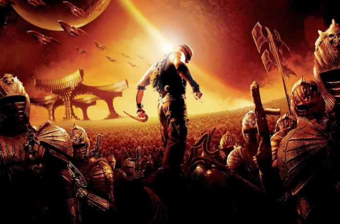 Riddick, personaggio portato in scena da Vin Diesel
