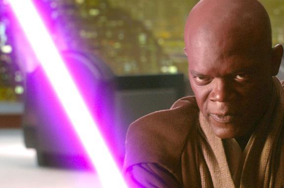 Star Wars: perché la spada laser di Mace Windu è viola?