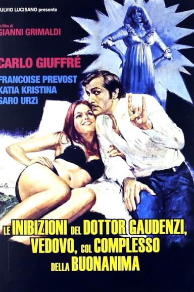 Poster Le inibizioni del dottor Gaudenzi, vedovo col complesso della buonanima
