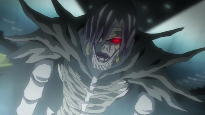 Rem, uno degli dei della morte in Death Note