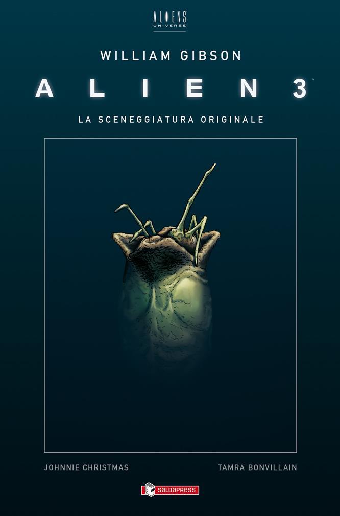 Ecco la copertina di Alien3 di William Gibson