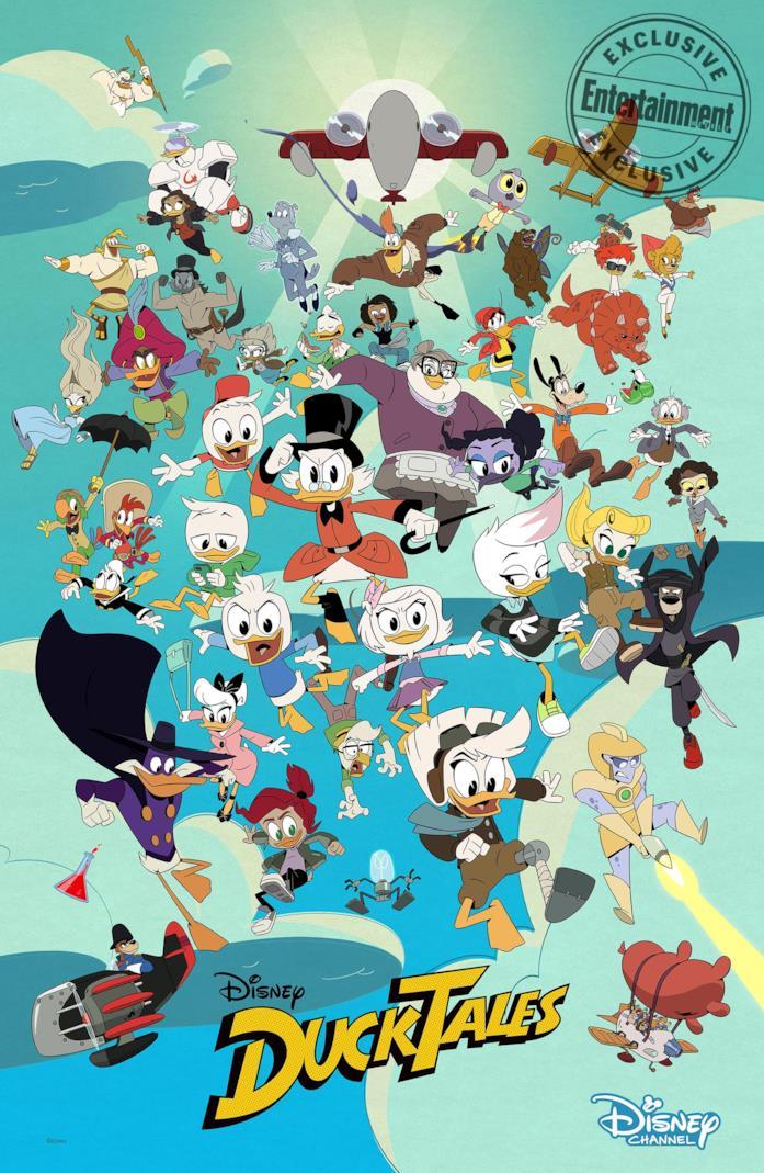 I nuovi personaggi di Ducktales