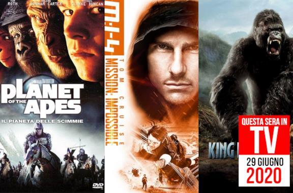 29 giugno, i film e i documentari da vedere oggi in TV