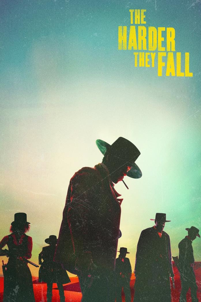 Il poster di The Harder They Fall
