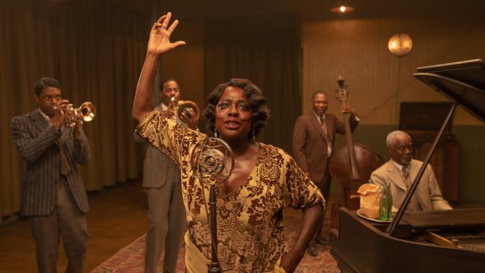 Viola Davis e i 4 attori che interpretano i musicisti