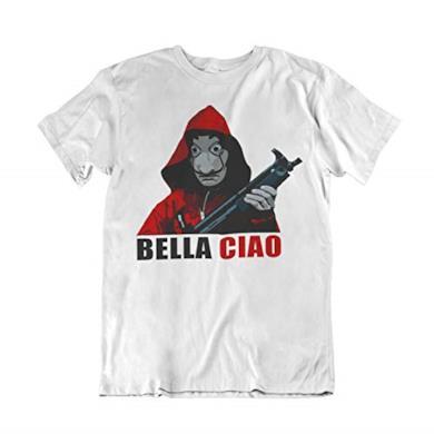 T-Shirt Bella Ciao La Casa di Carta