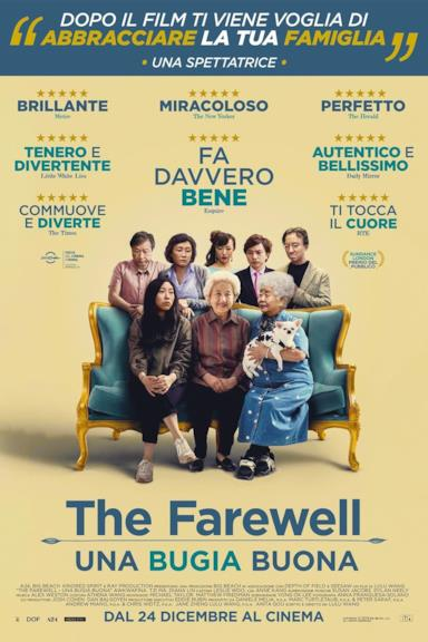 Poster The Farewell - Una bugia buona
