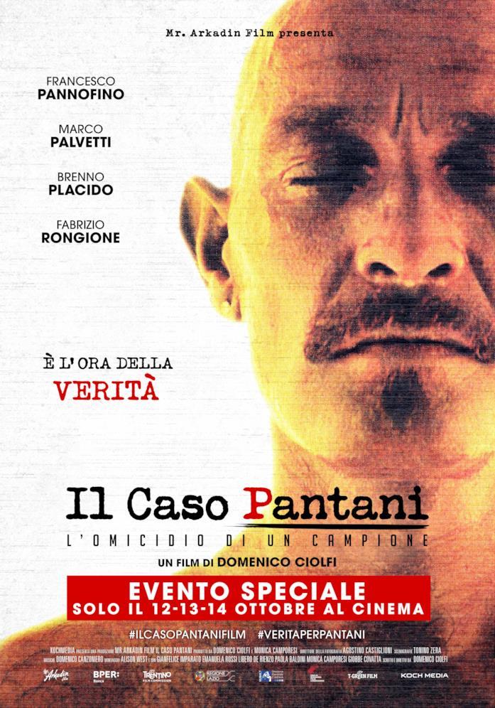 Il poster de Il caso Pantani