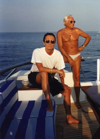 Adriana Mulassano è stata la più stretta collaboratrice di Giorgio Armani. Questa foto li ritrae insieme