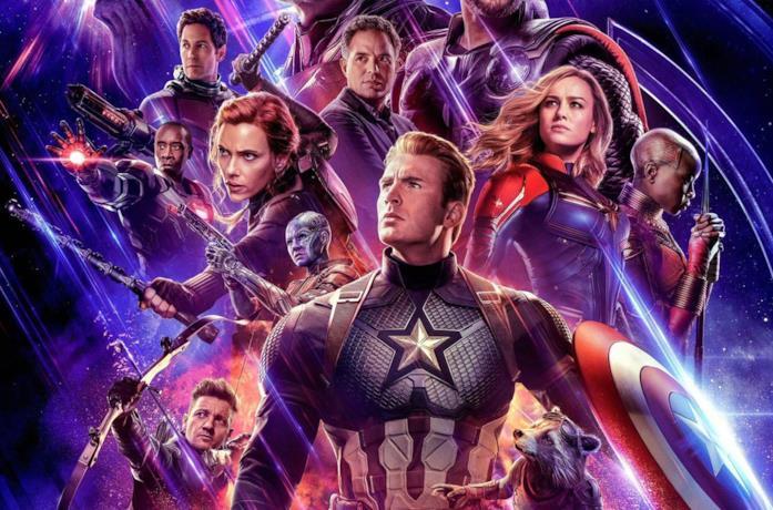 Poster del film Avengers Endgame, il più visto di sempre al botteghino