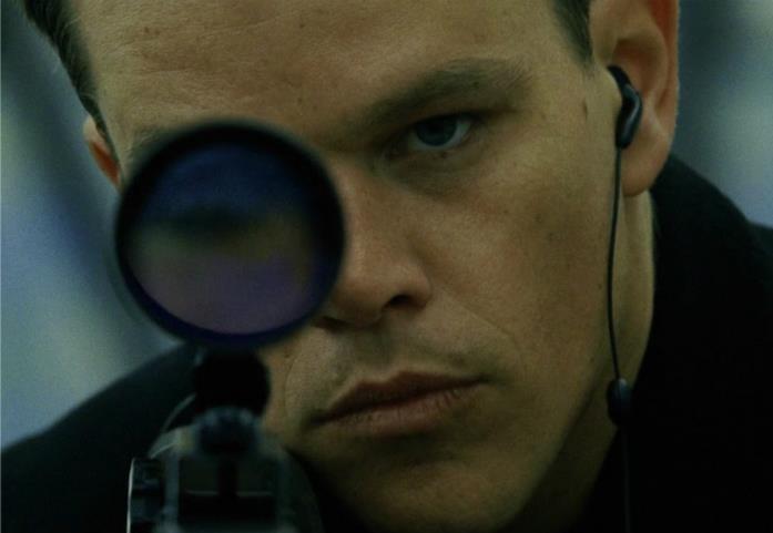 Jason Bourne che mira