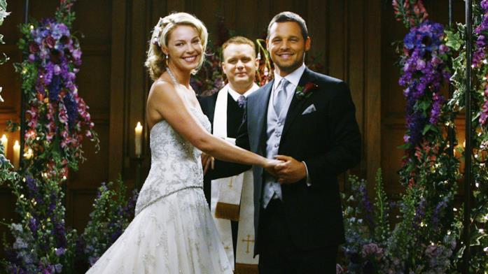 Alex e Izzie sposi in Grey's Anatomy 5