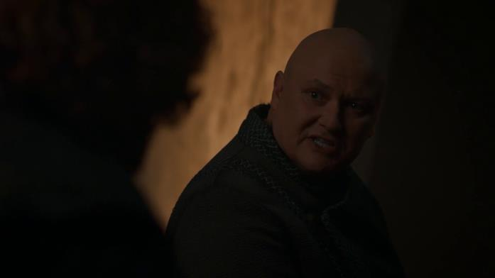 Varys e Tyrion parlano di Daenerys in Game of Thrones 8x04