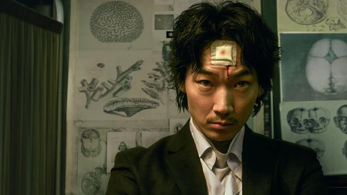 Il protagonista del film Homunculus