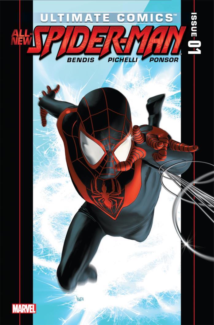 Copertina di Ultimate Comics - All New Spider-Man #1