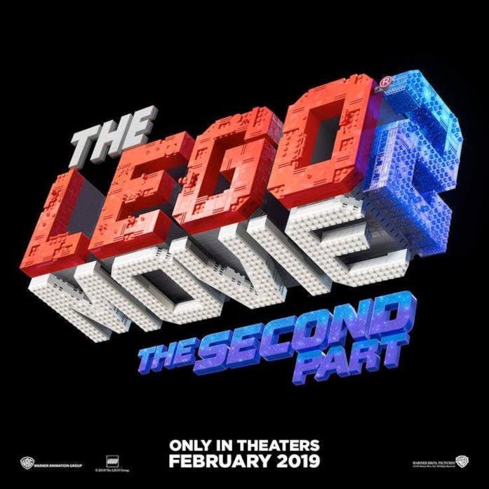 The Lego Movie - The Second Part uscirà a febbraio 2019