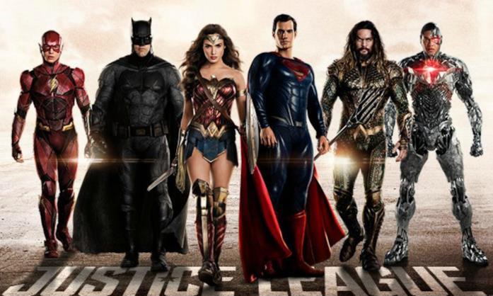 Il cast di Justice League
