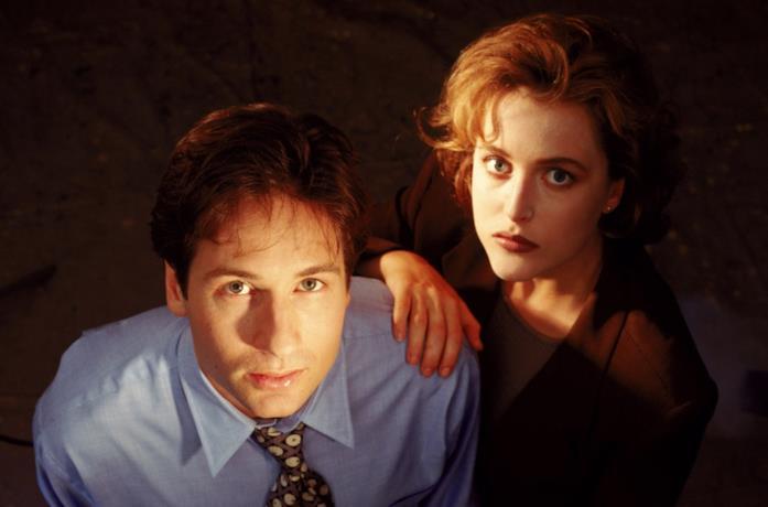 David Duchovny e Gillian Anderson