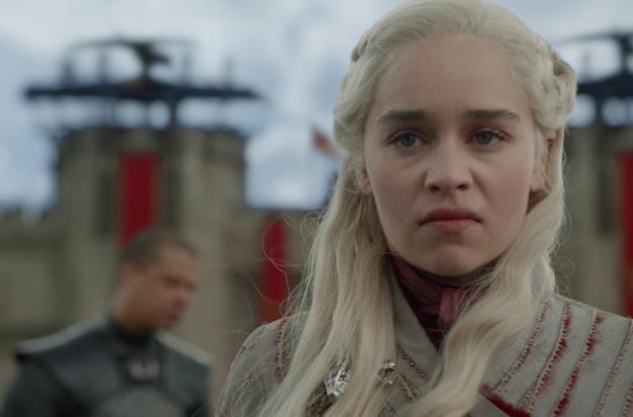 Lo sguardo di Daenerys dice molto