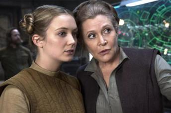 Carrie Fisher e sua figlia