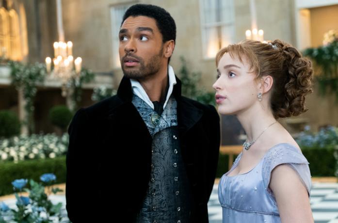 Daphne e Simon al ballo