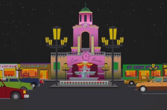 I creatori di South Park Trey Parker e Matt Stone vogliono salvare Casa Bonita dalla bancarotta