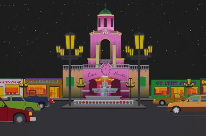 Casa Bonita in South Park