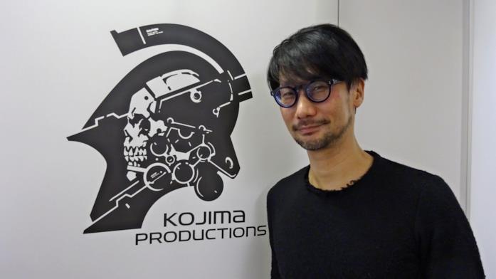 Hideo Kojima negli uffici di Kojima Productions