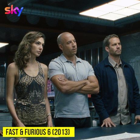 Oggi su Sky Cinema Action alle 21:00 Fast & furious 6 (2013)