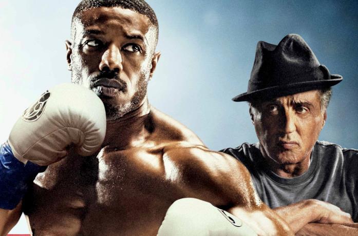 Michael B- Jordan e Sylvester Stallone in Creed II