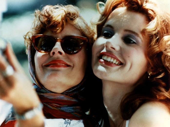 Una scena di Thelma e Louise