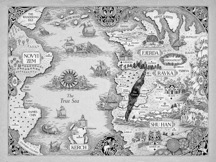 Per orientarsi nel mondo di Shadow and Bone