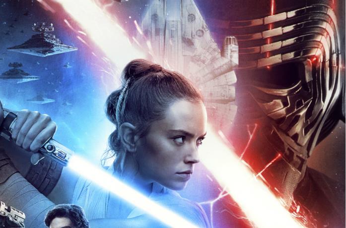 Rey in primo piano nel poster di Star Wars: L'Ascesa di Skywalker