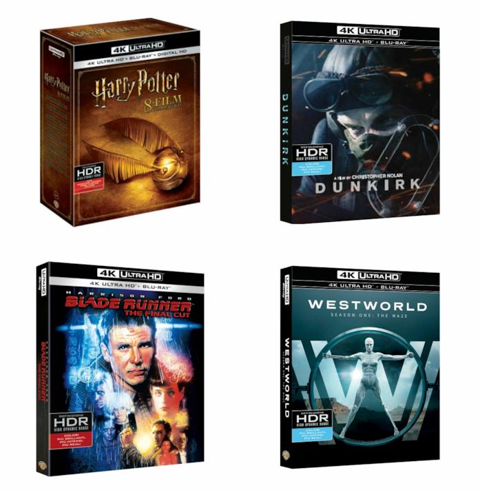 Le proposte in 4K Ultra HD di Warner Bros. per Natale 2017