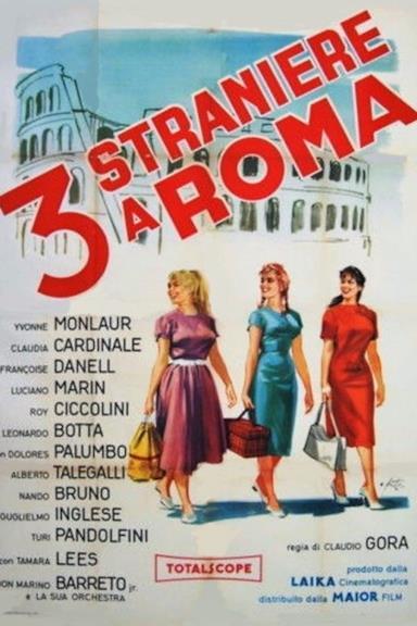 Poster 3 straniere a Roma