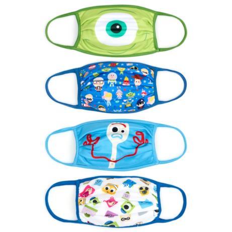 Mascherine in tessuto: 4 soggetti Pixar