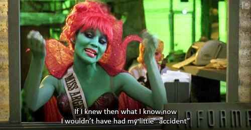 Miss Argentina in Beetlejuice