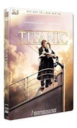 Titanic 3D Boitier Metal/Blu-Ray [Edizione: Francia]