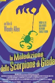 Poster La maledizione dello scorpione di giada