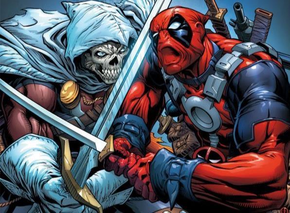 Dettaglio della cover di Cable & Deadpool #36
