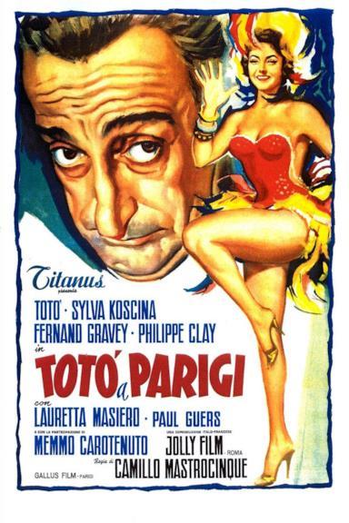 Poster Totò a Parigi