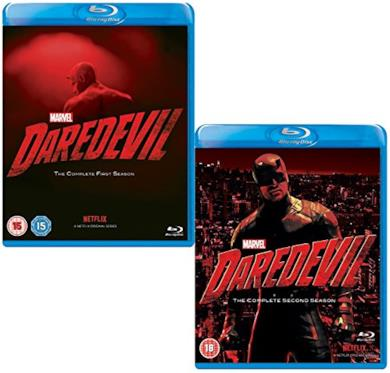 Cofanetto Blu-ray di Daredevil - Seasons 1-2