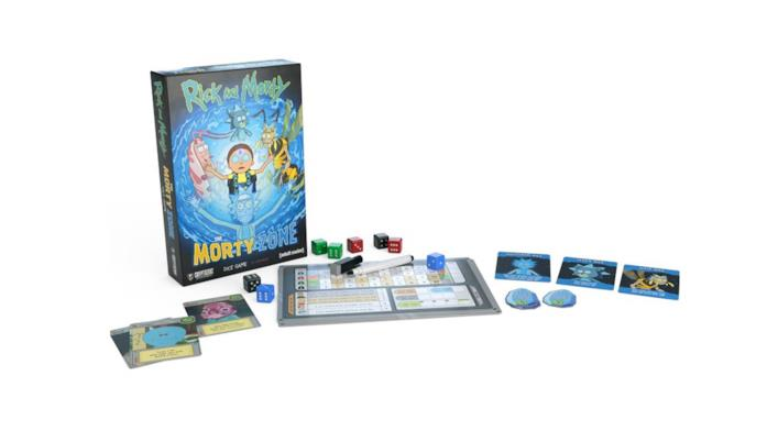 Rick and Morty: The Morty Zone Dice Game