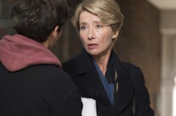 Emma Thompson in una scena del film Il verdetto