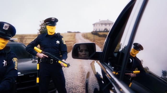 Una scena di Watchmen
