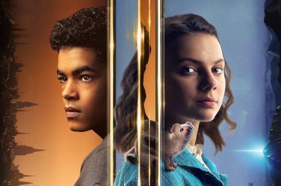 Uno dei poster promozionali per la seconda stagione di His Dark Materials