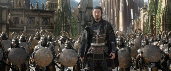 Hogun e l'esercito di Asgard
